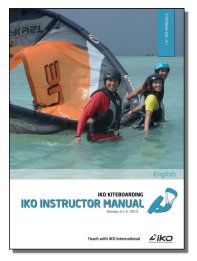 New IKO Kiteboarding Instructor Manual